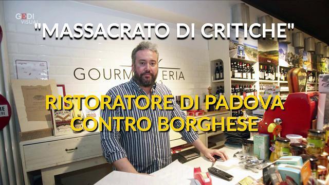 """Padova. """"Il mio ristorante massacrato da Alessandro Borghese, mi sono rivolto a un avvocato"""""""