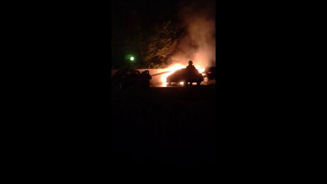 Treviso, auto incendiata dal piromane di via Pinelli