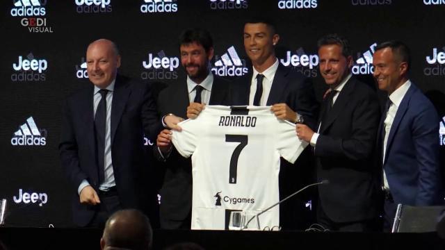 Villar Perosa, la grande attesa per il debutto di Cristiano Ronaldo