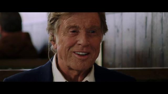'The old man & the gun', Robert Redford è Forrest Tucker - trailer