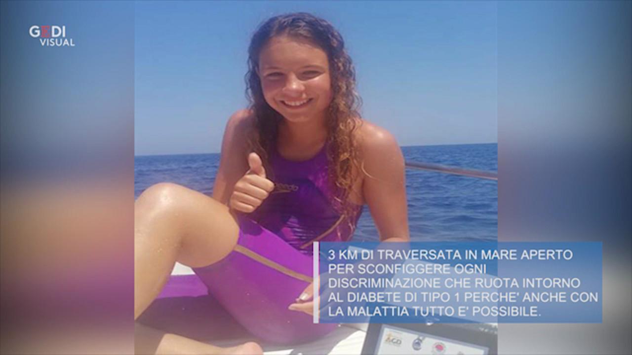 Modena Asia Oltre Il Diabete Attraversa A Nuoto Lo