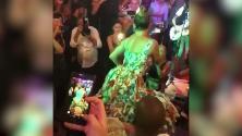 Capri, Jennifer Lopez regina dell'isola: show scateato nel locale