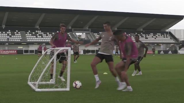 Juventus, primo gol di Ronaldo con la maglia della Juventus