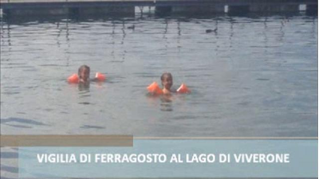Lago di Viverone: vigilia di ferragosto