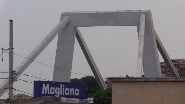 Anche a Roma un ponte Morandi. Alla Magliana sull'autostrada per Fiumicino