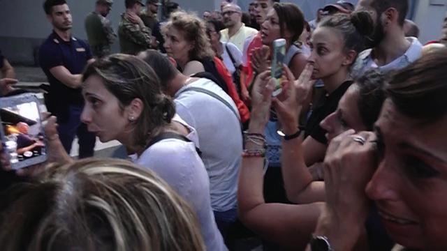 Genova, crollo ponte Morandi. La protesta degli evacuati per rientrare in casa