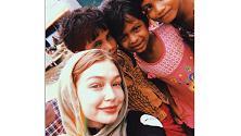 Gigi Hadid in missione per l'Unicef, in Bangladesh accanto ai rifugiati Rohingya