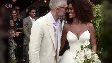 Francia, il matrimonio di Vincent Cassel e Tina Kunakey: il sì è a sorpresa