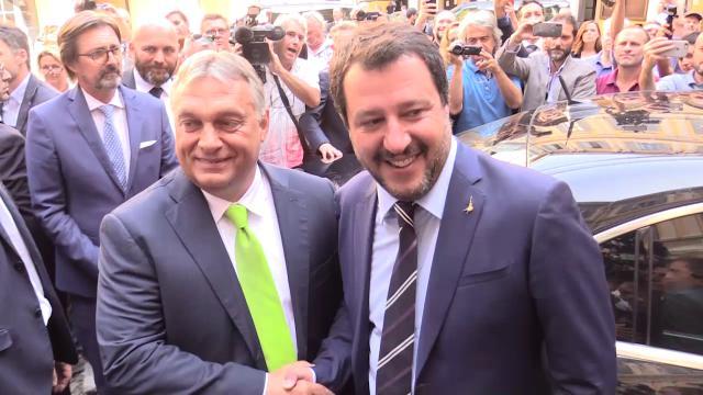 Risultati immagini per Orban-Salvini,