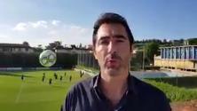Coverciano, il cronista Rai ''bersaglio'' degli Azzurri: la pallonata lo sfiora