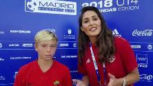 """Madrid, Totti junior campione di fair play e d'inglese: """"Non mi importava del gol ma di come stava"""""""