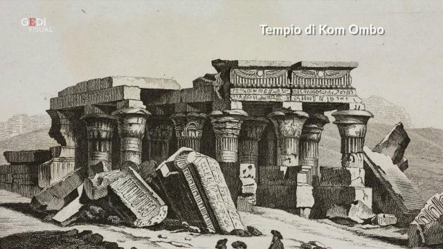 Egitto, il tempio si allaga: scoperta sfinge millenaria