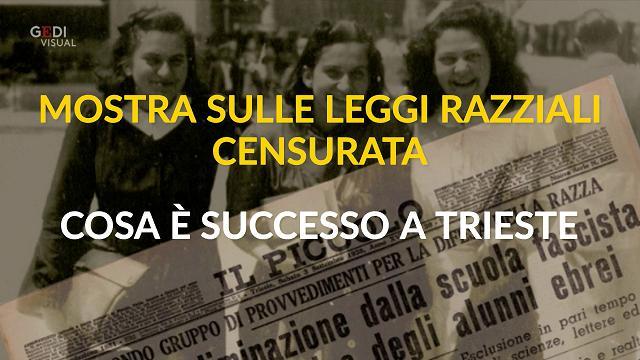 Mostra sulle leggi razziali censurata, cosa è successo a Trieste