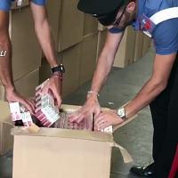 Sequestrati 332mila pacchetti di sigarette di contrabbando a Sarno