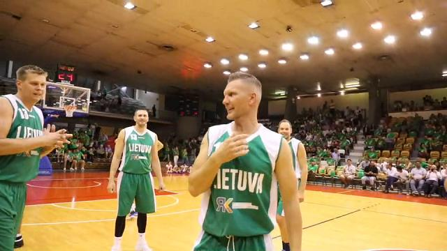 L'addio al basket dell' ex capitano Rimantas Kaukenas