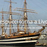 Livorno, torna la nave Vespucci: è una magia che si rinnova