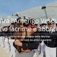 Livorno, rientra la Vespucci: abbracci e lacrime per gli allievi