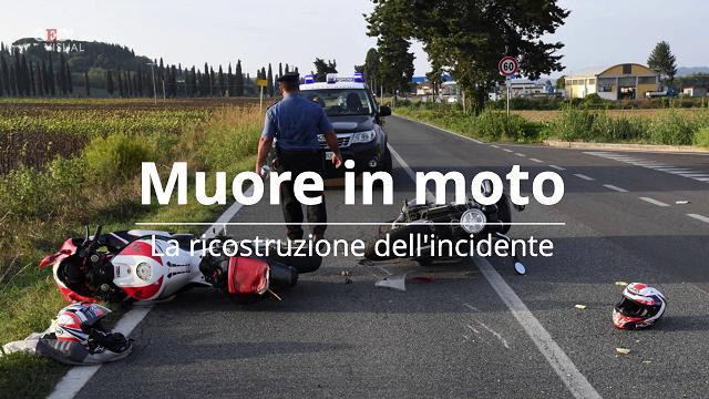 Terricciola, muore in moto a 53 anni: le immagini dell'incidente
