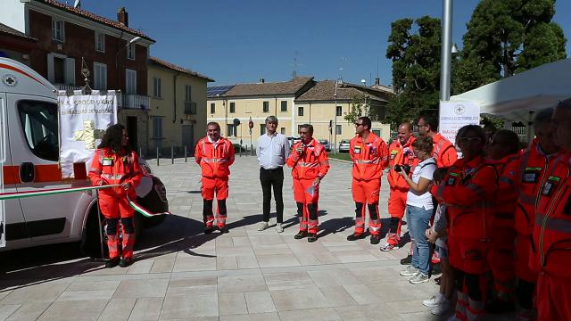 Sannazzaro, inaugurata la nuova ambulanza