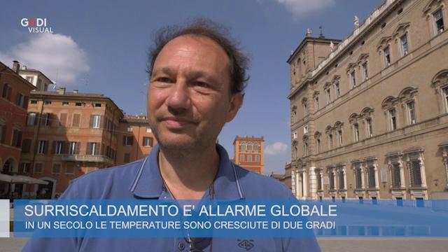 """Modena """"surriscaldata"""". Il climatologo Lombroso: """"Situazione preoccupante: ecco perchè"""""""
