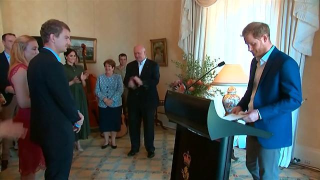 Royal Baby, il principe Harry: ''Lieti di annunciare la gravidanza in Australia''