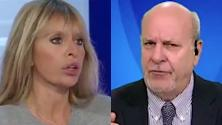 """Mussolini e Friedman litigano in diretta: """"Povero str..."""" """"Cafona"""""""