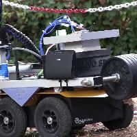 Firenze, ecco il robot che individua in sicurezza le mine antiuomo