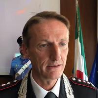 Il comandante Corbellotti spiega i dettagli dell'operazione antidroga a Sassari