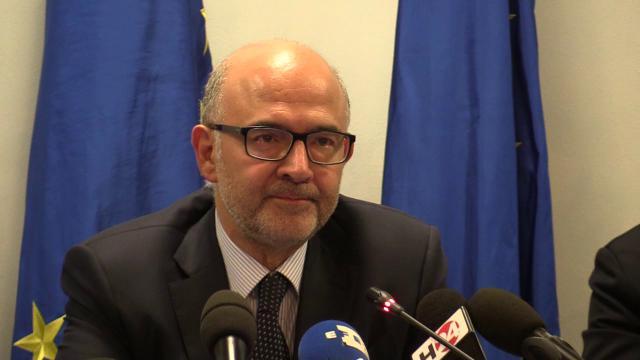 """Manovra, Moscovici: """"Spread alto? Non c'è rischio contagio"""""""