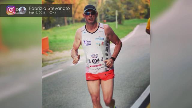 Corri in muso al cancro: una nuova sfida per Fabrizio Stevanato