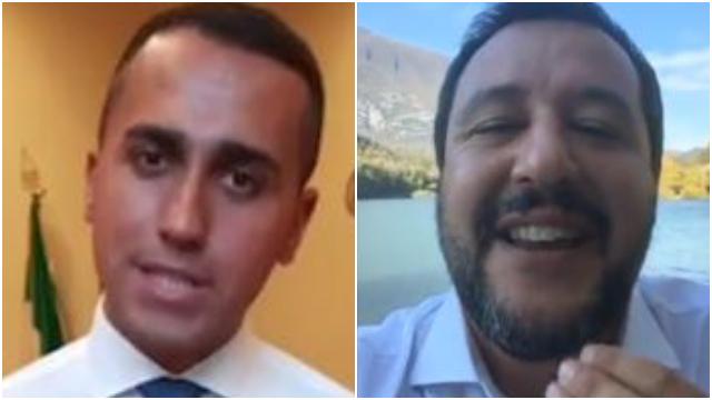 """Salvini e Di Maio, la 'guerra' delle dirette: """"Non passo per scemo"""", """"Non sono bugiardo"""""""