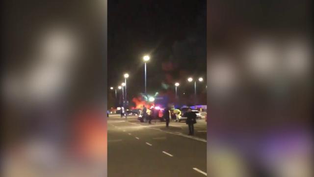 È precipitato l'elicottero del presidente del Leicester