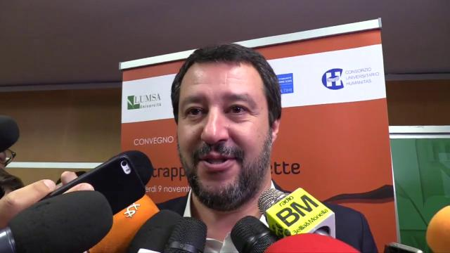 """Prescrizione, Salvini: """"In vigore dal 2020 solo con la riforma del processo penale"""""""
