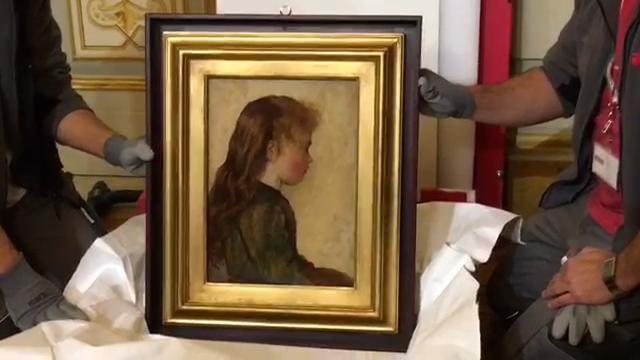 Gotine rosse di Giovanni Fattori torna finalmente nella sua Livorno