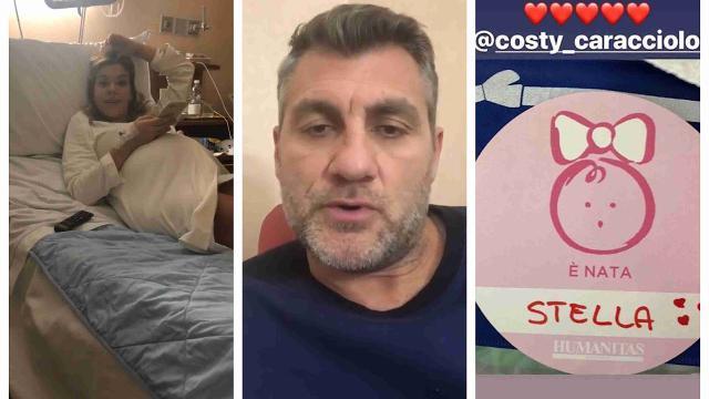 """Milano, Bobo Vieri diventa papà e annuncia su Instagram: """"È nata Stella"""""""