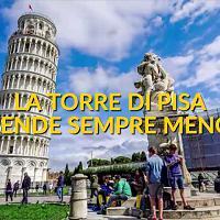 La Torre di Pisa pende sempre meno: ecco quanto si è raddrizzata