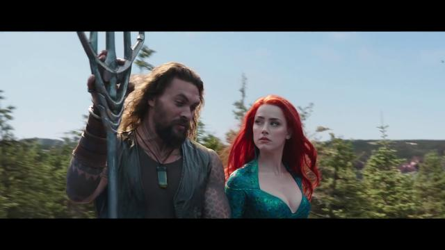Sul set di 'Aquaman', dove la Sicilia del supereroe marino ...