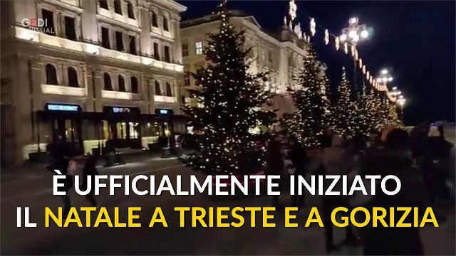 Trieste Natale Immagini.Luminarie A Trieste Opicina E Gorizia Il Natale E Ufficialmente