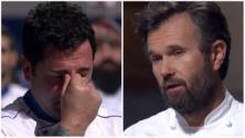 Cracco al concorrente commosso: ''Sei un maschio!'' Critiche sui social contro lo chef