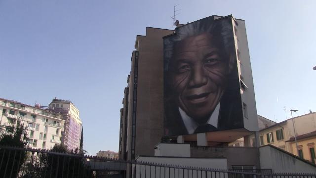 Firenze Jorit Inaugura Il Murale Dedicato A Mandela La Street Art