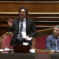 """Senato, Toninelli all'opposizione: """"Spero continuiate a contestarmi: ne sono orgoglioso"""""""