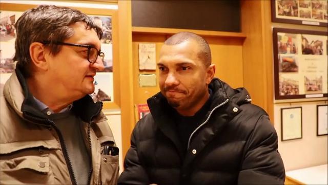 """Marcio Amoroso torna a Udine: """"Qui per far giocare mio figlio nell'Udinese"""""""