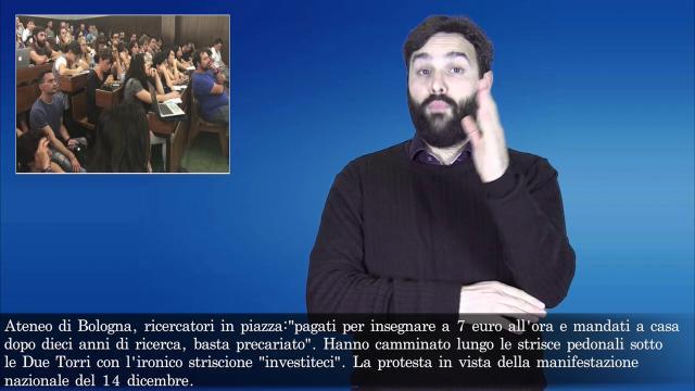 MetropoLis, le notizie di Bologna nella lingua dei segni