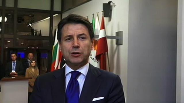 """Bruxelles, Conte: """"Reddito di cittadinanza e quota 100 nei tempi previsti"""""""