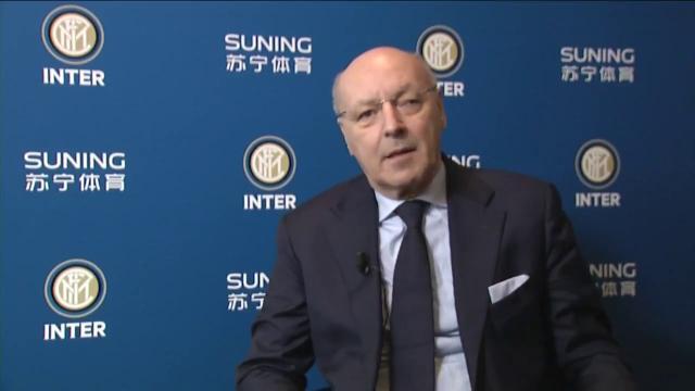 Inter, Marotta ad: