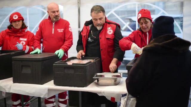 La Croce rossa porta a Ostiense il