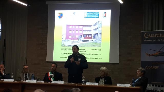 Salvini a Parma: