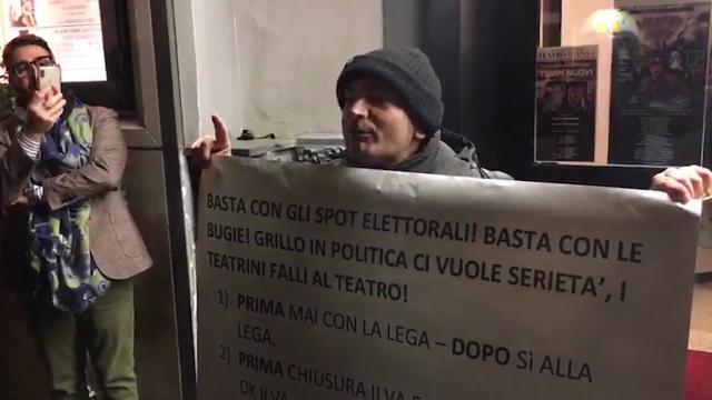 Grillo attacca Salvini: 'quella sera la madre doveva prendere la pillola'