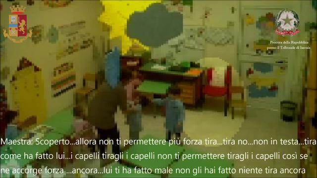 Isernia, maltrattamenti su bimbi da parte di maestre violente: costretti anche a picchiarsi fra loro