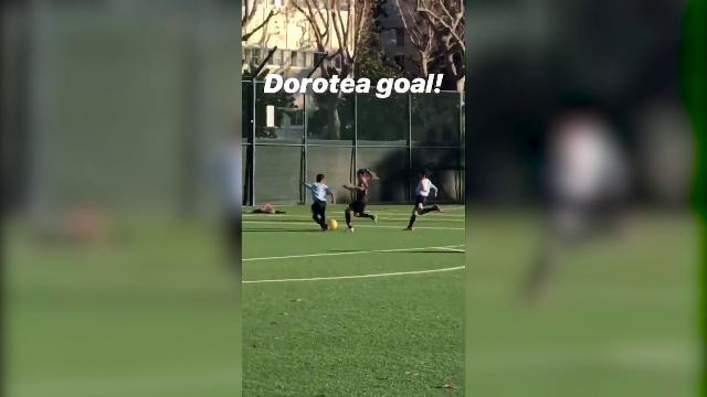 Usa, Dorotea Del Piero come il papà: fuga sulla fascia e poi il gol